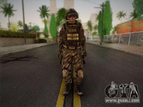 Боец СВР (Tom Clancy Splinter Cell) v1 for GTA San Andreas