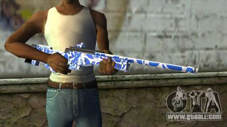 Graffiti Rifle for GTA San Andreas third screenshot