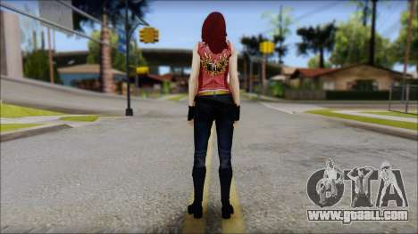 Claire Aflterlife Skin for GTA San Andreas second screenshot