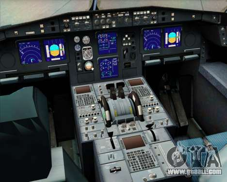 Airbus A340-313 Philippine Airlines for GTA San Andreas interior