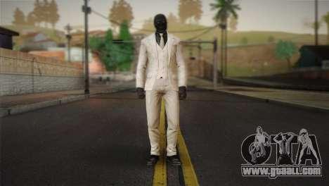 Black Mask for GTA San Andreas