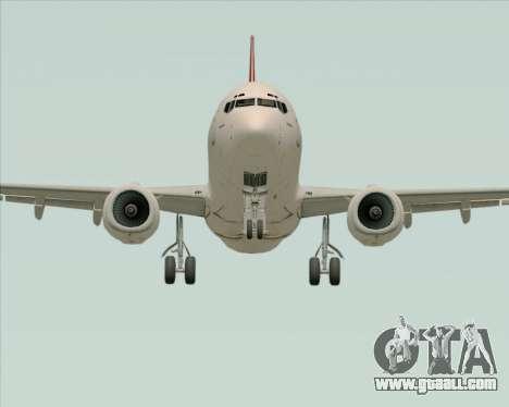Boeing 737-838 Qantas for GTA San Andreas inner view