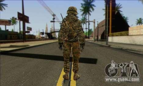Task Force 141 (CoD: MW 2) Skin 11 for GTA San Andreas second screenshot