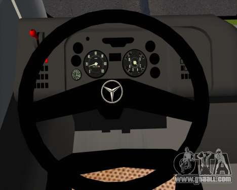 Caio Induscar Mondego H Mercedes-Benz O-500U for GTA San Andreas interior