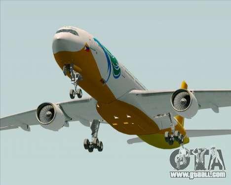 Airbus A330-300 Cebu Pacific Air for GTA San Andreas side view