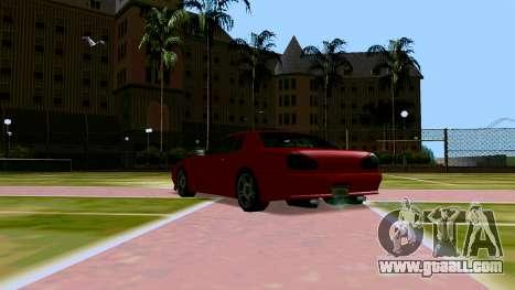 Elegy OnDrift for GTA San Andreas back view