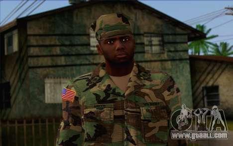 California National Guard Skin 3 for GTA San Andreas third screenshot