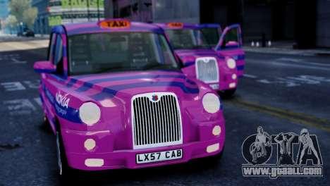 London Taxi Cab v1 for GTA 4