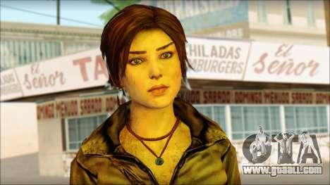 Tomb Raider Skin 6 2013 for GTA San Andreas third screenshot