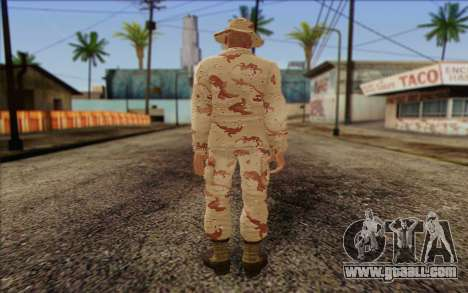 California National Guard	 Skin 1 for GTA San Andreas second screenshot