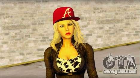Eva Girl v2 for GTA San Andreas third screenshot