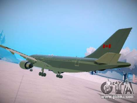 Canadian Forces Airbus CC150 Polaris for GTA San Andreas right view