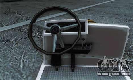 Airtug FlyUS (IVF) for GTA San Andreas back left view