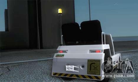 Airtug FlyUS (IVF) for GTA San Andreas right view