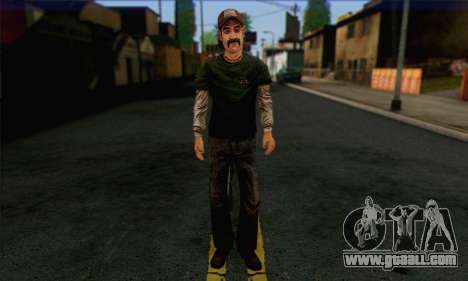 Kenny from The Walking Dead v1 for GTA San Andreas