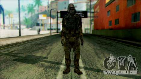 A soldier from team 4 Phantom for GTA San Andreas