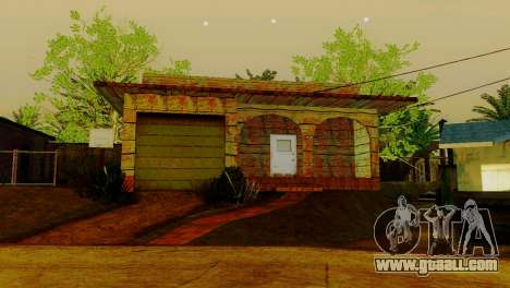 New textures houses on grove street for GTA San Andreas fifth screenshot