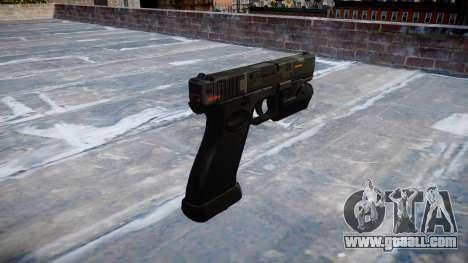 Pistol Glock 20 ce digital for GTA 4 second screenshot