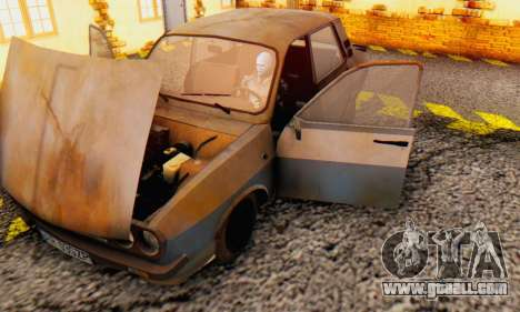 Dacia 1310 MLS Rusty Edition 1988 for GTA San Andreas inner view
