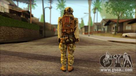 USAss from BF4 for GTA San Andreas second screenshot