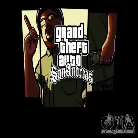 HD loading screen and menu for GTA San Andreas forth screenshot