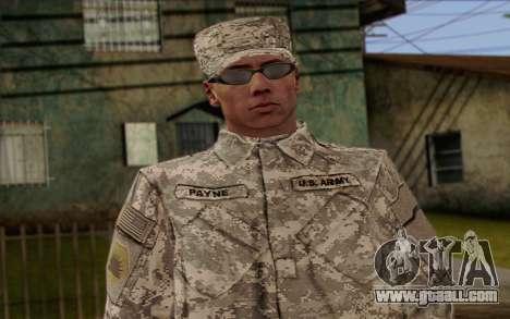 California National Guard Skin 4 for GTA San Andreas third screenshot
