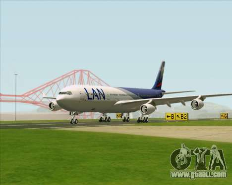 Airbus A340-313 LAN Airlines for GTA San Andreas inner view