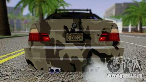 BMW M3 E46 Coupe 2005 Hellaflush v2.0 for GTA San Andreas right view