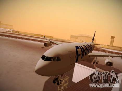 Airbus A340-300 Finnair for GTA San Andreas