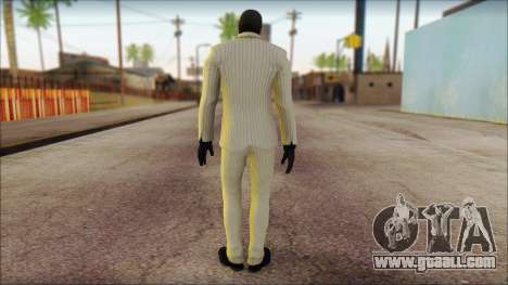 Black Mask From Batman: Arkham Origins for GTA San Andreas second screenshot
