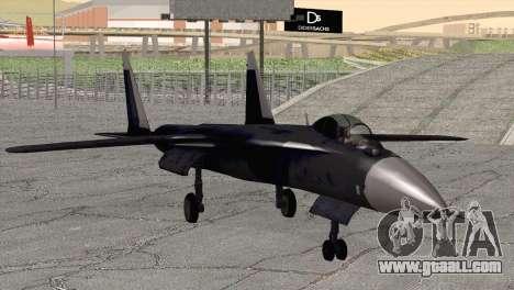 Sukhoi SU-47 Berkut from H.A.W.X. 2 for GTA San Andreas
