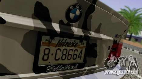 BMW M3 E46 Coupe 2005 Hellaflush v2.0 for GTA San Andreas inner view