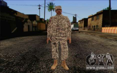 California National Guard Skin 4 for GTA San Andreas