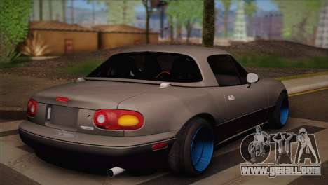 Mazda Miata for GTA San Andreas left view