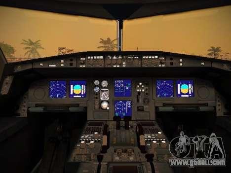 Airbus A340-600 Lufthansa for GTA San Andreas wheels