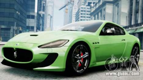Maserati Gran Turismo MC Stradale 2014 for GTA 4