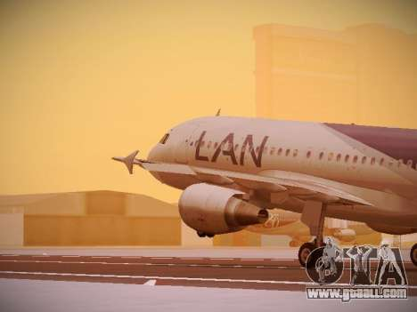 Airbus A320-214 LAN Airlines 80 Years for GTA San Andreas