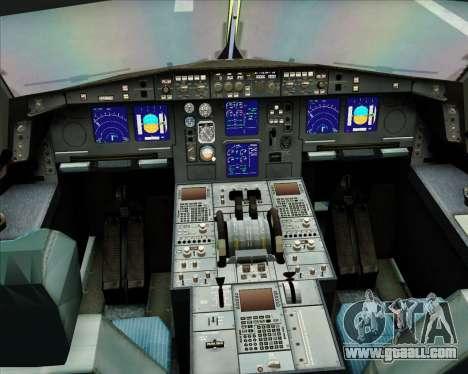 Airbus A330-300 Gulf Air for GTA San Andreas side view
