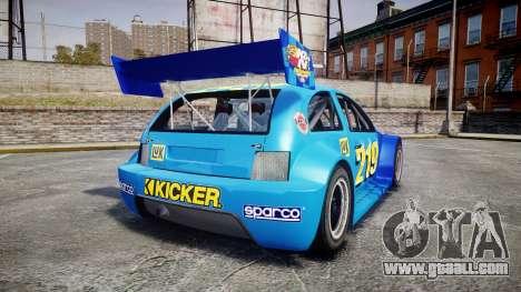 Zenden Cup Kicker for GTA 4 back left view