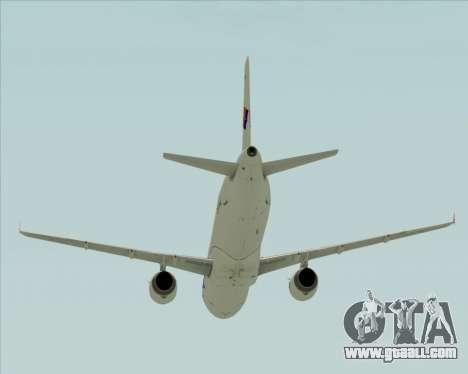 Airbus A321-231 Spanair for GTA San Andreas upper view