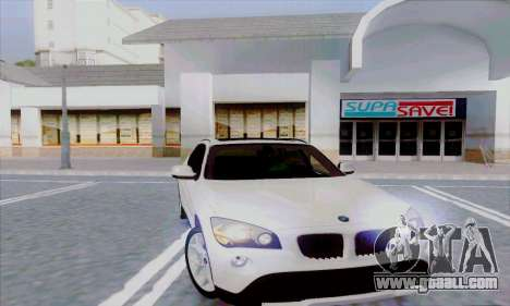 Bmw X1 for GTA San Andreas back left view