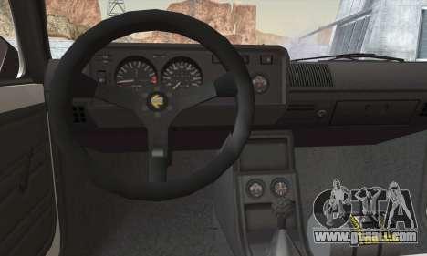 Volkswagen Golf Mk1 GTi for GTA San Andreas back left view