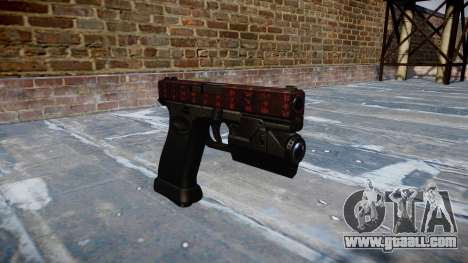 Pistol Glock 20 art of war for GTA 4