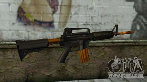 Nitro M4 for GTA San Andreas second screenshot