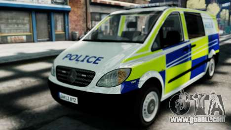 Mercedes-Benz Vito for GTA 4 back left view