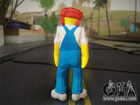 The Groundskeeper Willy From The Simpsons: Road  for GTA San Andreas second screenshot