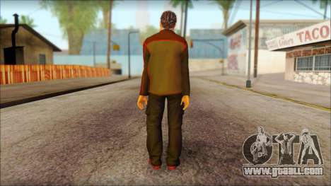 GTA 5 Ped 8 for GTA San Andreas second screenshot