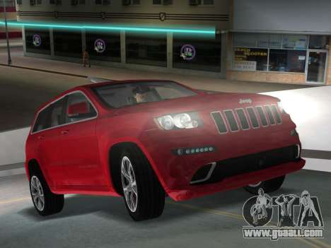Jeep Grand Cherokee SRT-8 (WK2) 2012 for GTA Vice City