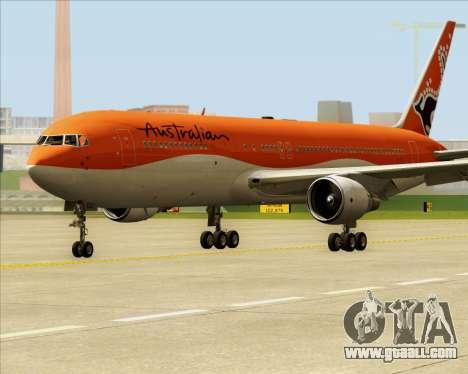 Boeing 767-300ER Australian Airlines for GTA San Andreas left view