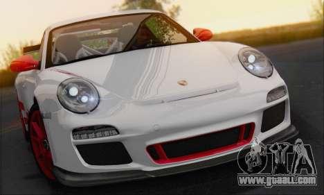 Porsche 911 GT3 2010 for GTA San Andreas back view
